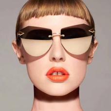 Euramerican Tawny Plastic Sunglasses