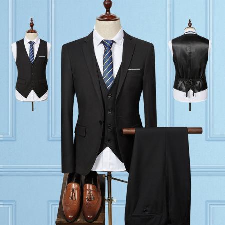 New men's blazer three-piece suit in large size #95069