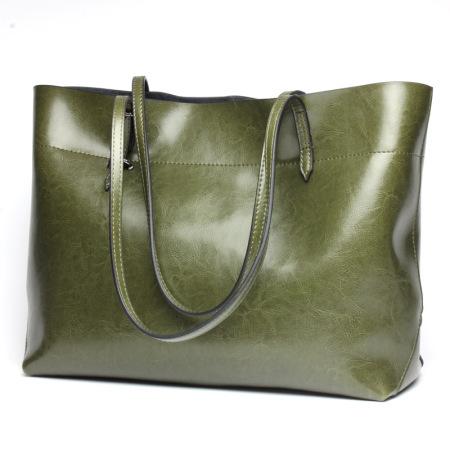 wonderful Leather handbag #95079