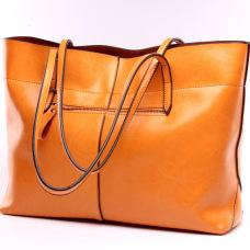 wonderful Leather handbag #95082