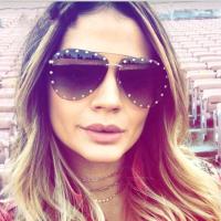 Euramerican Rivet Decorative Grey Plastic Sunglasses