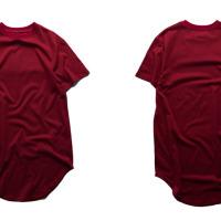 Fashion men extended t shirt longline hip hop tee shirts women justin bieber swag clothes harajuku rock tshirt homme free shipping #94694