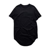 Fashion men extended t shirt longline hip hop tee shirts women justin bieber swag clothes harajuku rock tshirt homme free shipping #94695