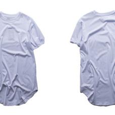 Fashion men extended t shirt longline hip hop tee shirts women justin bieber swag clothes harajuku rock tshirt homme free shipping #94697