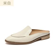 Slacker fashion retro flat women's shoes #95030