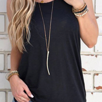 All Day Backless Casual Tank Top